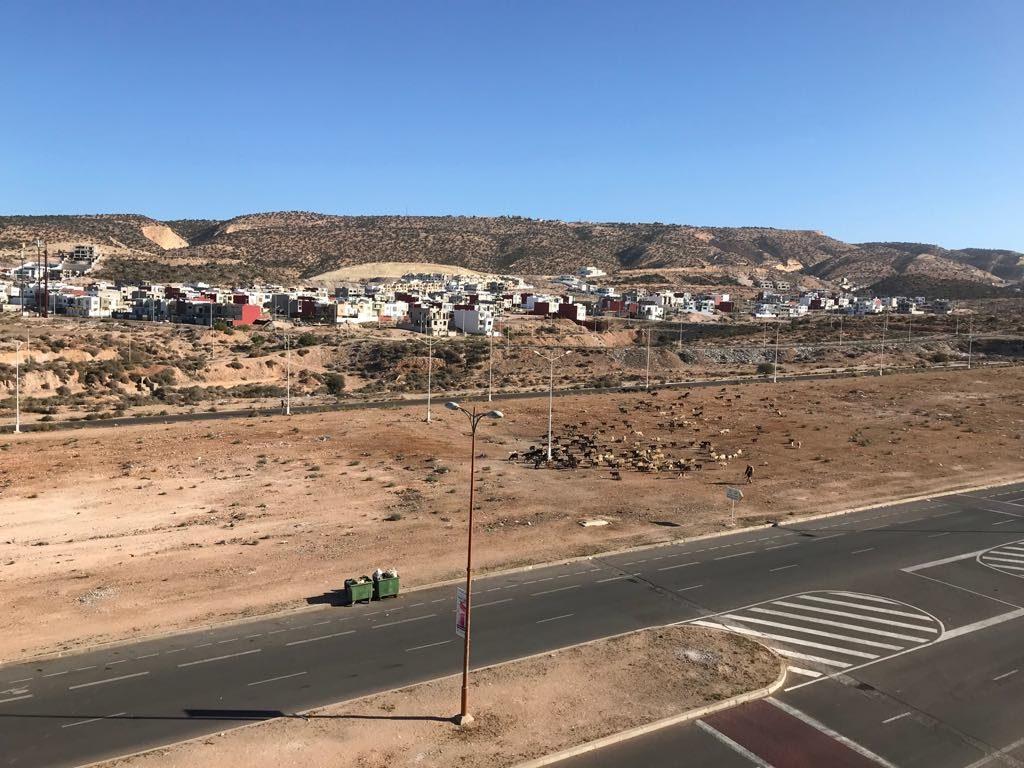 Panorama na miasto Agadir